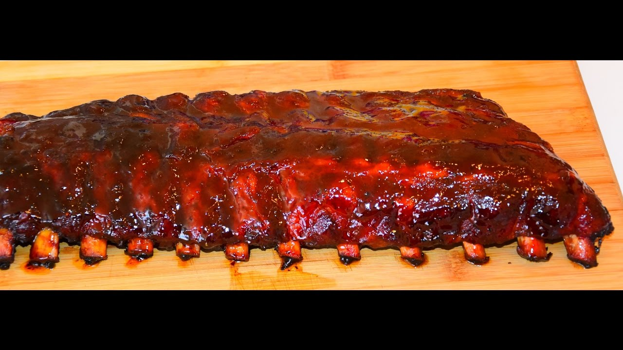 Fall-Off-The-Bone Ribs - Baby Back BBQ Ribs - Grill Or Smoker - YouTube