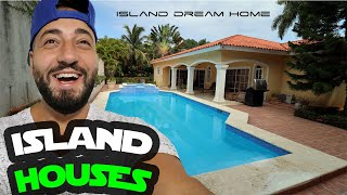 MY NEW HOUSE & ITS ON AN ISLAND!
