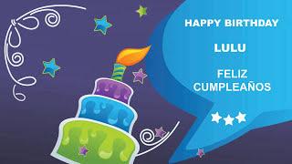 Lulu - Card Tarjeta_1183 - Happy Birthday