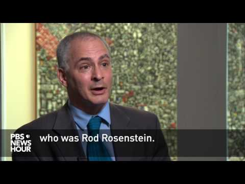 Comey expressed concerns over deputy AG Rosenstein, friend says