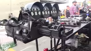 10,000 HORSEPOWER!!! IN THE NHRA PITS WITH THE MOST POWERFUL DRAG CARS ON THE PLANET.