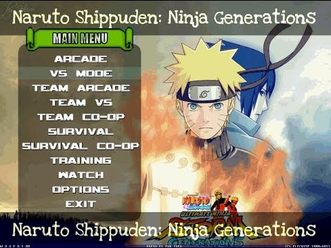 naruto shippuden mugen edition 2012 hires download