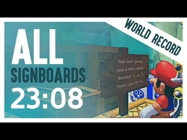 Trying to figure out if Mario can read (WORLD RECORD)