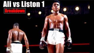 Ali vs Liston 1 | How Ali SHOOK UP the World - Breakdown