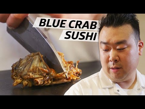 How This Sushi Master Uses Traditional Raw Korean Blue Crab In His Omakase — Omakase
