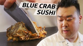 How This Sushi Master Uses Traditional Raw Korean Blue Crab in His Omakase - Omakase