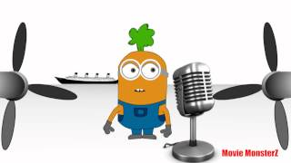 Despicable me 2 Trailer spoof - Minion singing Titanic song