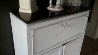 1920's Shabby Chic Tall Dresser Tour