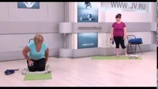 Йога для полных №4  Вытяжение сидя