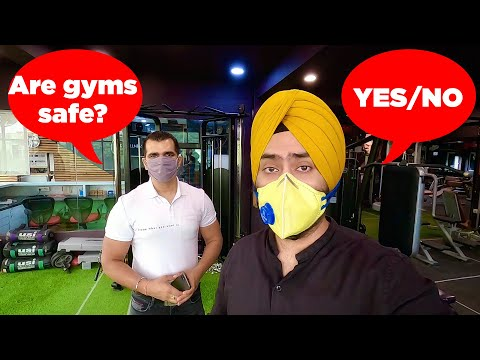 Are GYMS safe to re-open?   Sardarcasm
