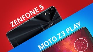 Moto Z3 Play vs Zenfone 5 [Comparativo]
