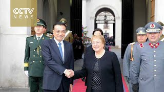 China, Chile ink currency swap deal