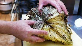 Nhật Bản thức ăn đường phố - khổng lồ ngao kỳ lạ Hải sản