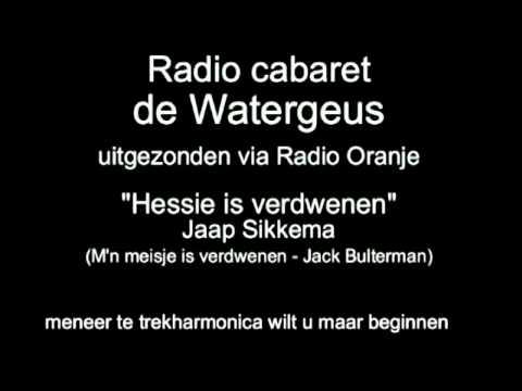 Radio Cabaret de Watergeus, afl 11 - Een mop over een Duitse kip en het lied 'Hessie is verdwenen'