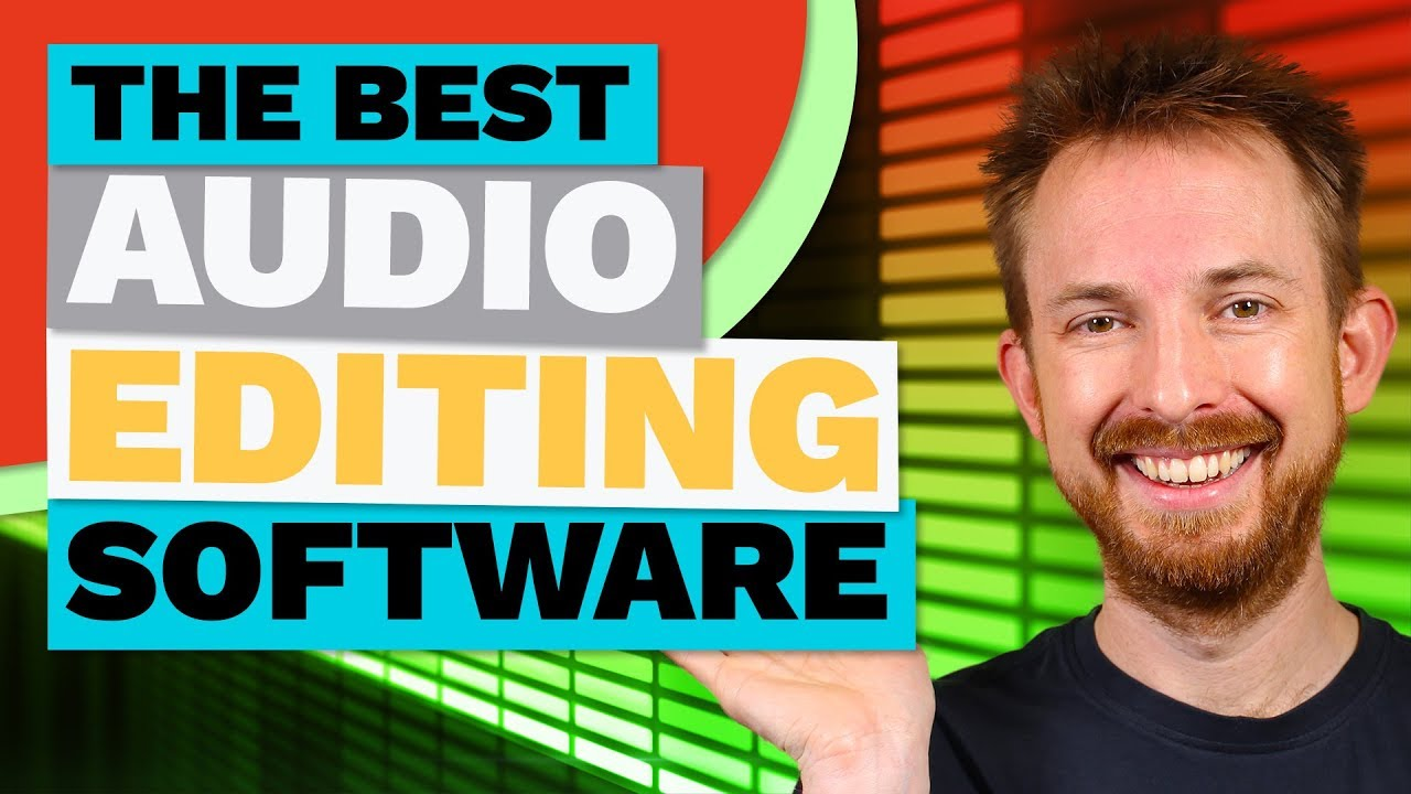 Best Audio Editing Software 3 Top Audio Editors For Pc And Mac Youtube
