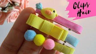 Trio de Presilhas os famosos Clips Hair DIY