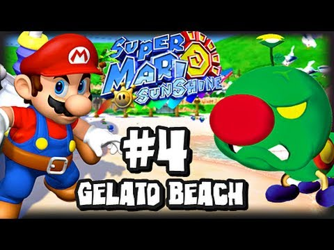 Super Mario Sunshine (1080p) - Part 4 - Gelato Beach
