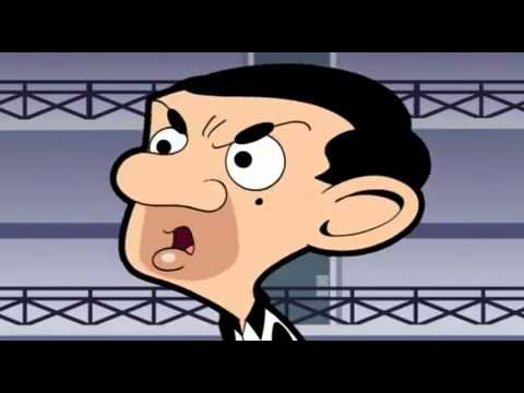 "Mr Bean: cartoon ""Wanted"" (2/2) Part 36/47"