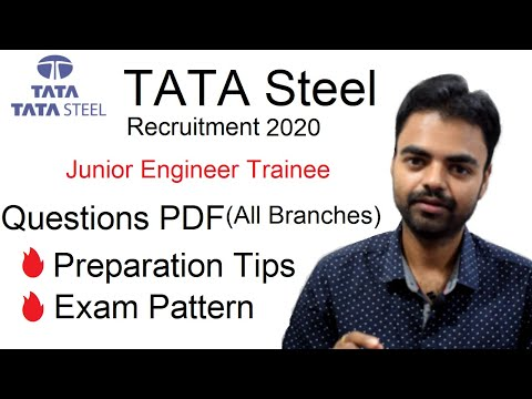 TATA Steel Jet Exam Question Paper PDF(Mechanical All Branches), Exam Pattern, Preparation Strategy