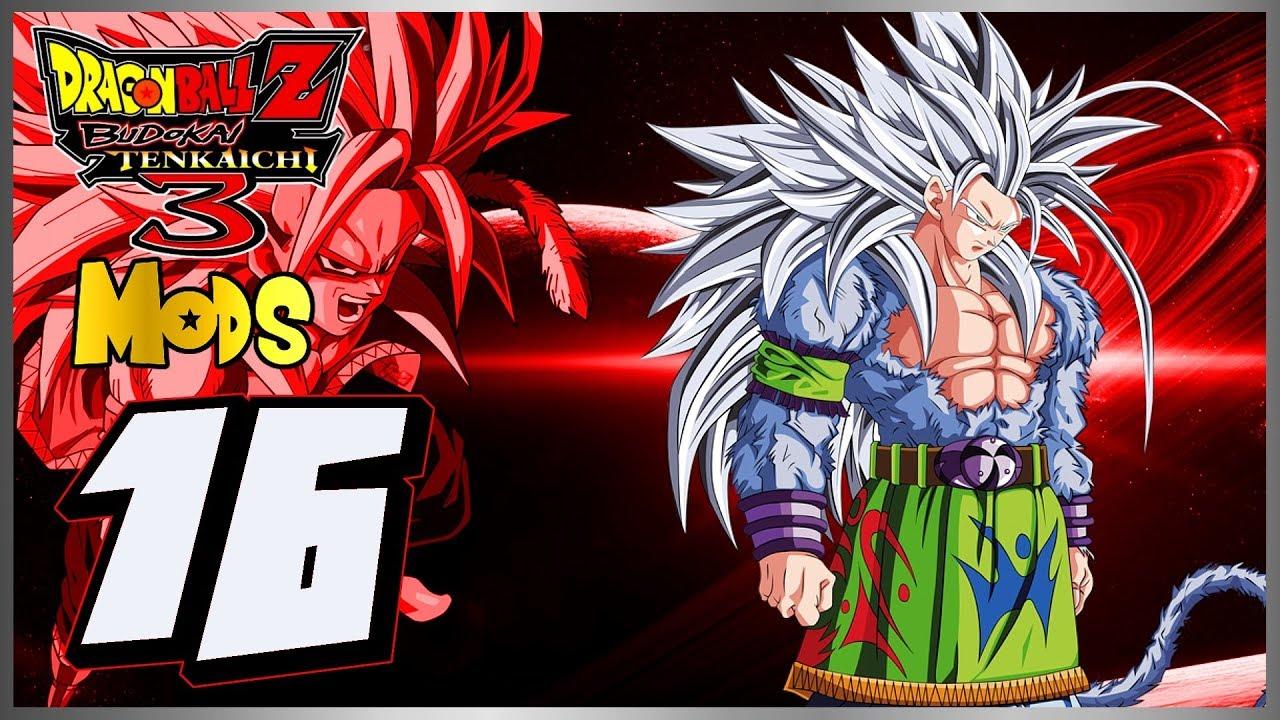 Dragon Ball Z Budokai Tenkaichi 3 Mods - Part 16 - Super Saiyajin 5! |  Let's Play