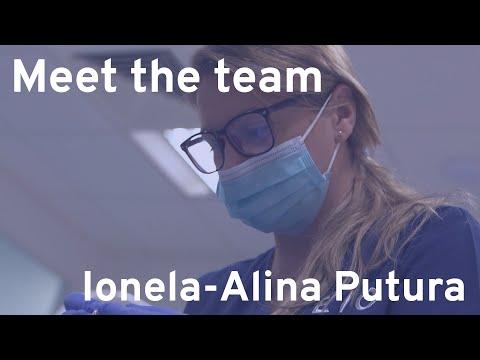 Meet the Team - Ionela-Alina Putura