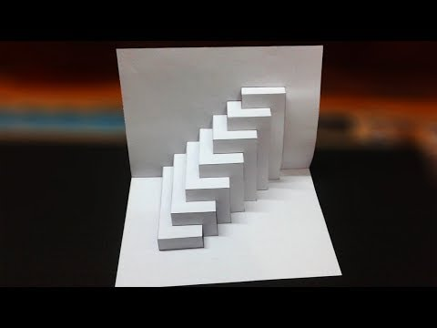 Super Easy Way To Make Kirigami Pop Up card || kirigami paper art Tutorial