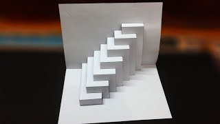Super Easy Way T๐ Make Kirigami Pop Up card || kirigami paper art Tutorial_with Template