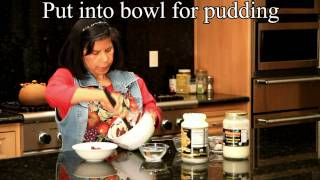 Recipes For Coconut Oil: Quick No-bake Chocolate Coconut Pudding Fudge Coconut Oil Recipe