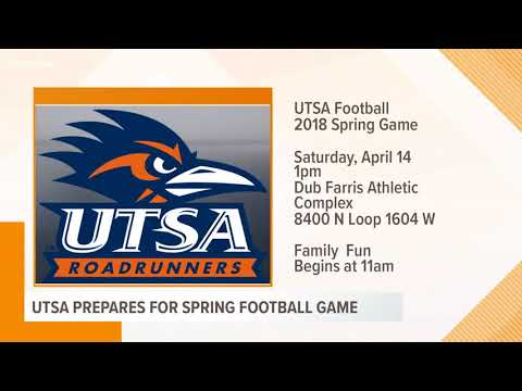 UTSA Prepares For Spring Football Game