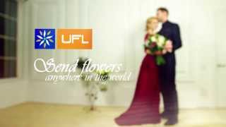 Beautiful video Valentine's day. UFL - worldwide flower delivery