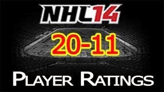 NHL 14 Player Ratings: Top 50 Players | 20-11 Thumbnail