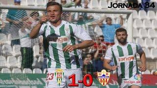 Córdoba 1-0 Almería | Todos los goles | Liga 1,2,3 2016/17