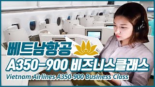Vietnam Airlines A350-900 Business Class Review