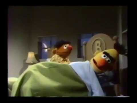 Sesame Street - Ernie Eats Cookies In Bed