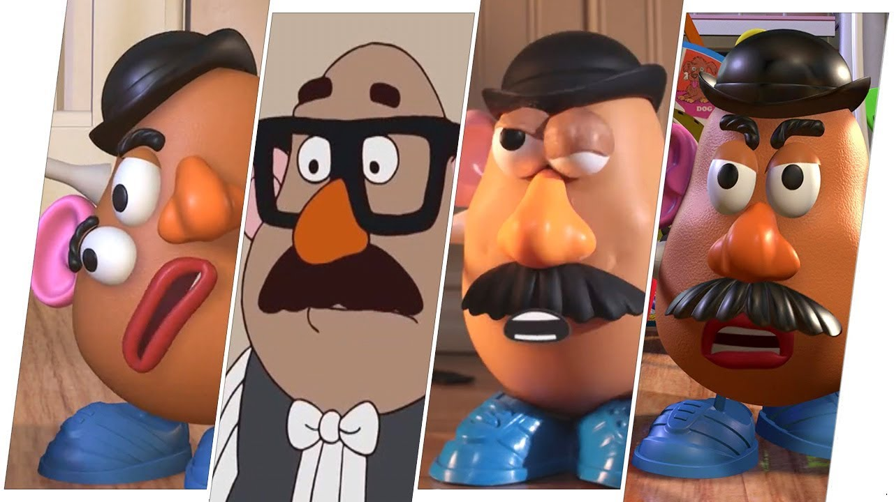 Mr Potato Head Evolution Toy Story