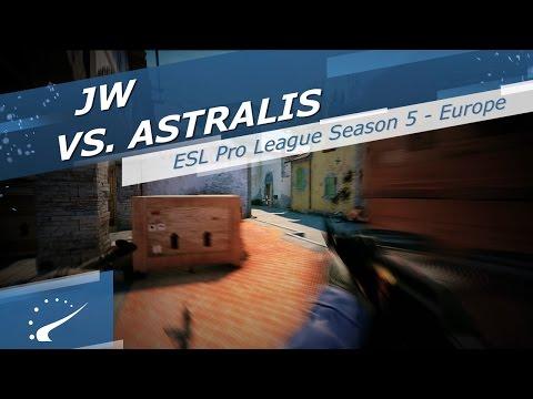JW vs. Astralis - ESL Pro League Season 5 Europe