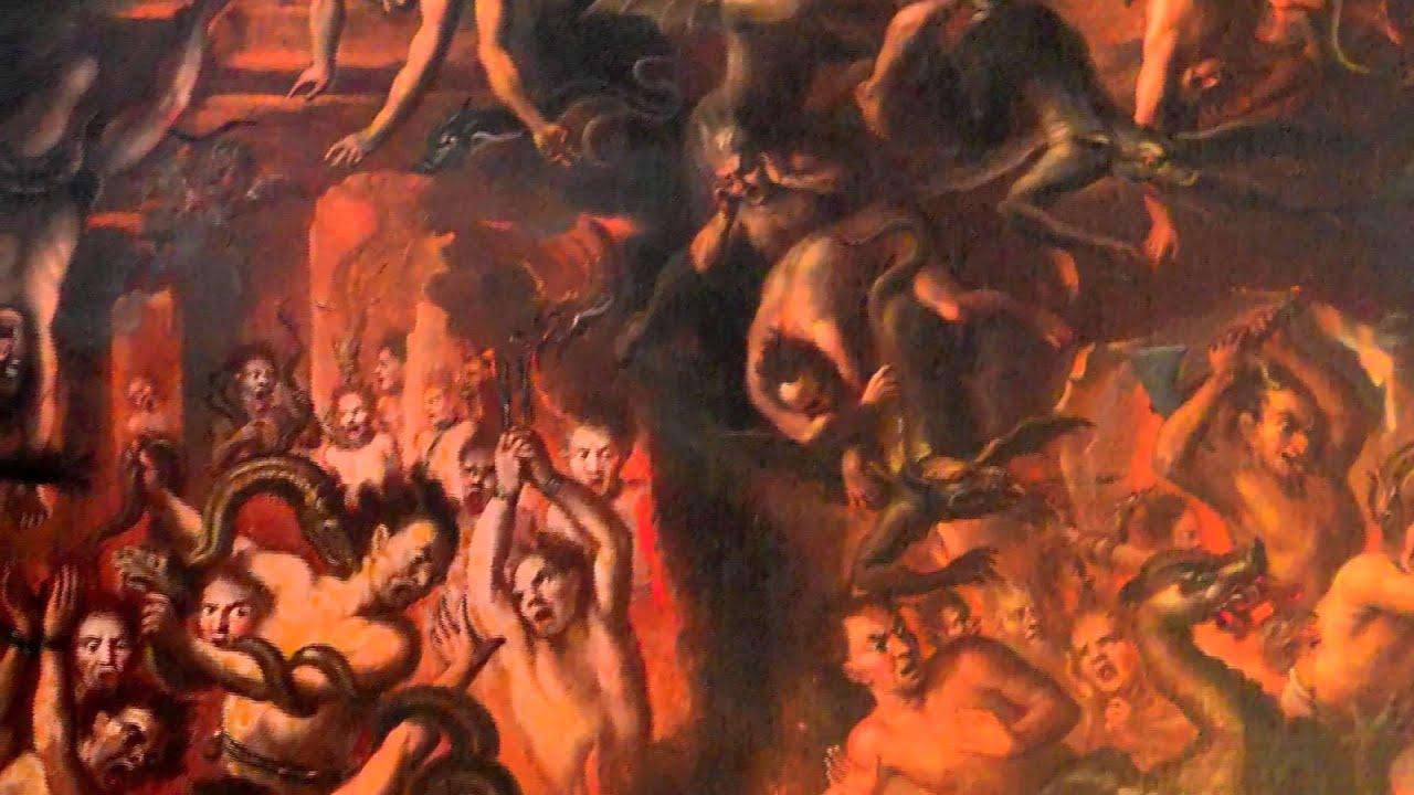 Las penas del infierno, El pecado y las tentaciones en la