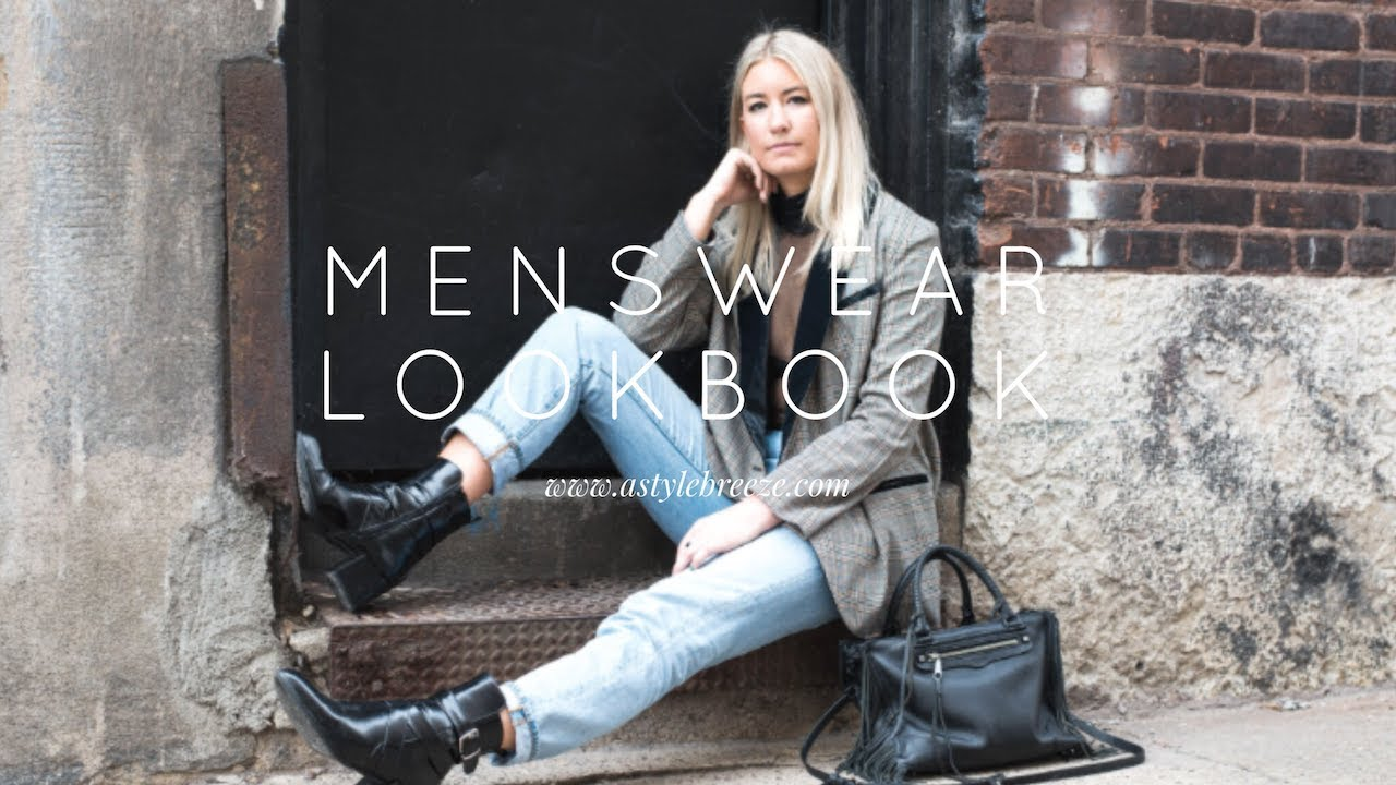 MENSWEAR-INSPIRED OUTFITS l FALL LOOKBOOK