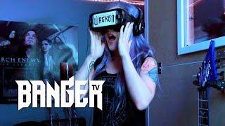 Alissa White-Gluz reacts to Welcome to Wacken virtual reality doc