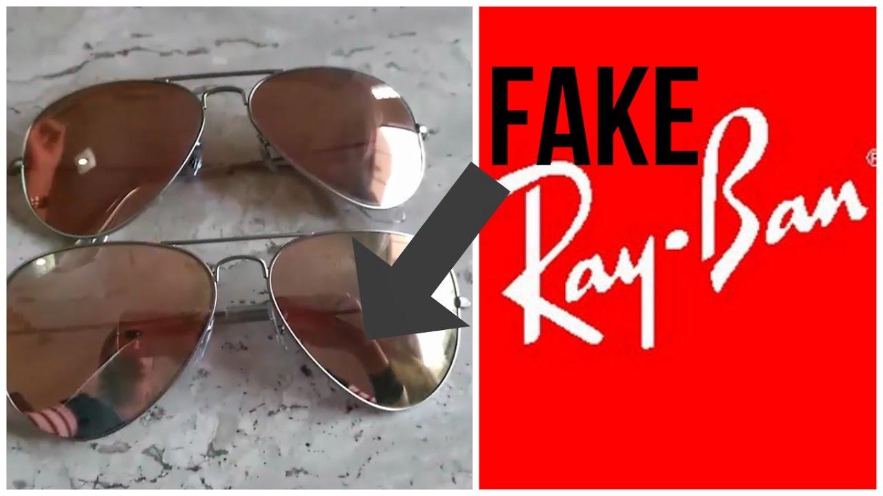 42e9499a51f63 Ray ban Original vs Fake Dicas de como não se enganar - YouTube