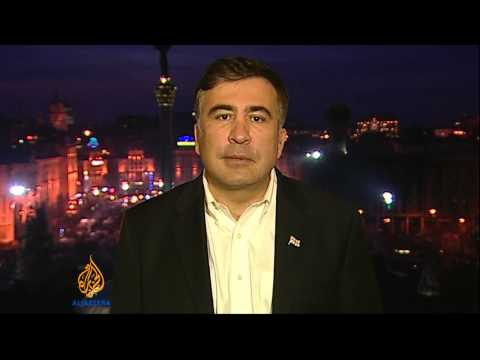 Interview: Former Georgia President Mikheil Saakashvili
