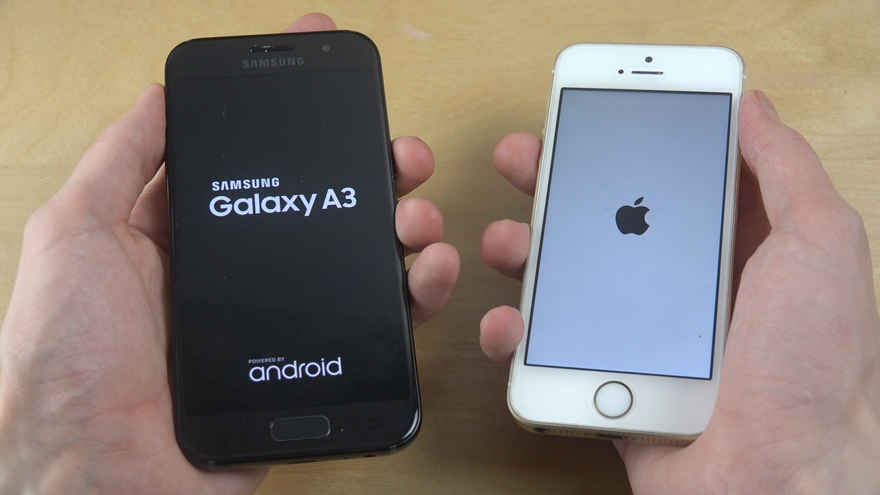 Samsung A3 2019 Vs Iphone 6s