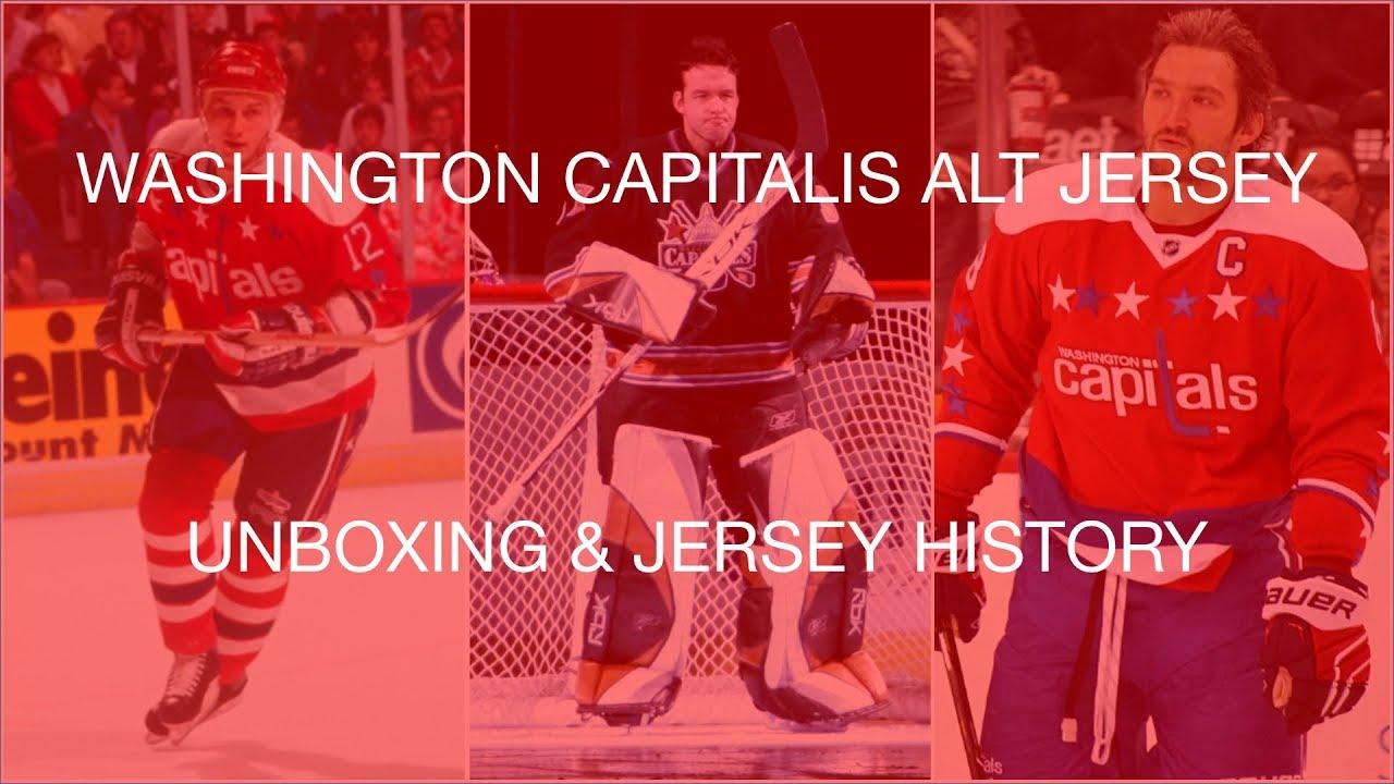 e88e211d906 Washington Capitals Jersey History - YouTube