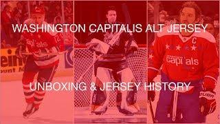 Washington Capitals Jersey History