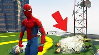 SPIDER-MAN vs PRZESTĘPCY (GTA na modach)   SPIDER-MAN MOD