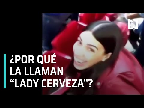Lady Cerveza casi provoca pelea en estadio de las Chivas - Las Noticias