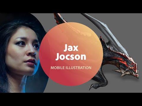 Live Illustration with Jax Jocson - 1 of 3
