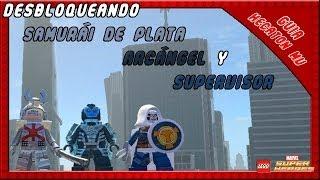 LEGO Marvel Super Heroes Como Desbloquear Samurai de Plata Arcangel Supervisor