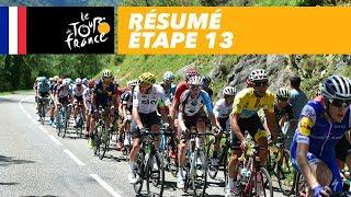 Résumé - Étape 13 - Tour de France 2017
