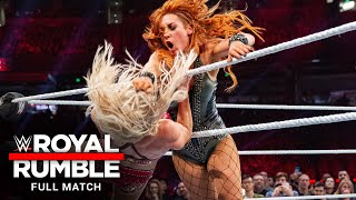 FULL MATCH - 2019 Women's Royal Rumble Match: Royal Rumble 2019